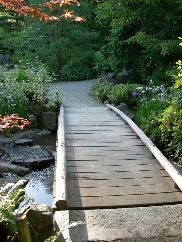 Puente en el jardn  cincuenta y nueve ideas para