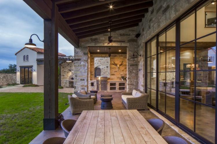 Fotos de casas italianas clsicas con terraza  ideas