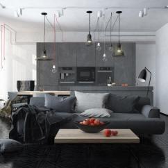 Kitchen Tile Floor Ideas Small Storage Solutions Decoracion De Apartamentos Pequeños - Diseños Moda