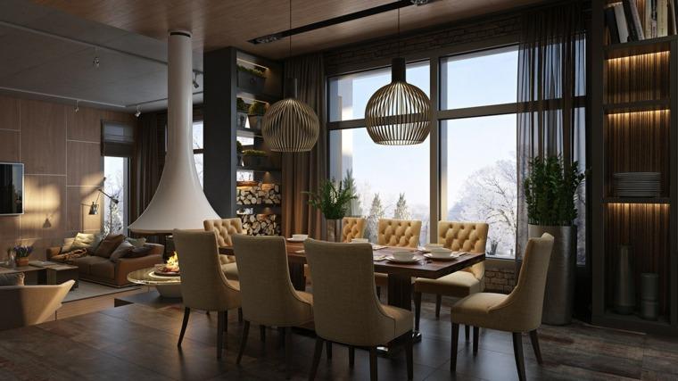 Casas de lujo increbles soluciones para interiores