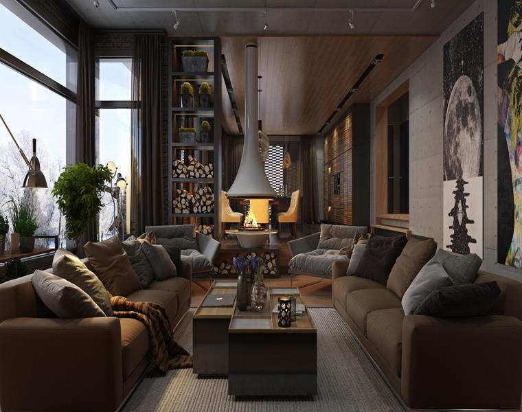 Casas de lujo  tres diseos de interiores impresionantes
