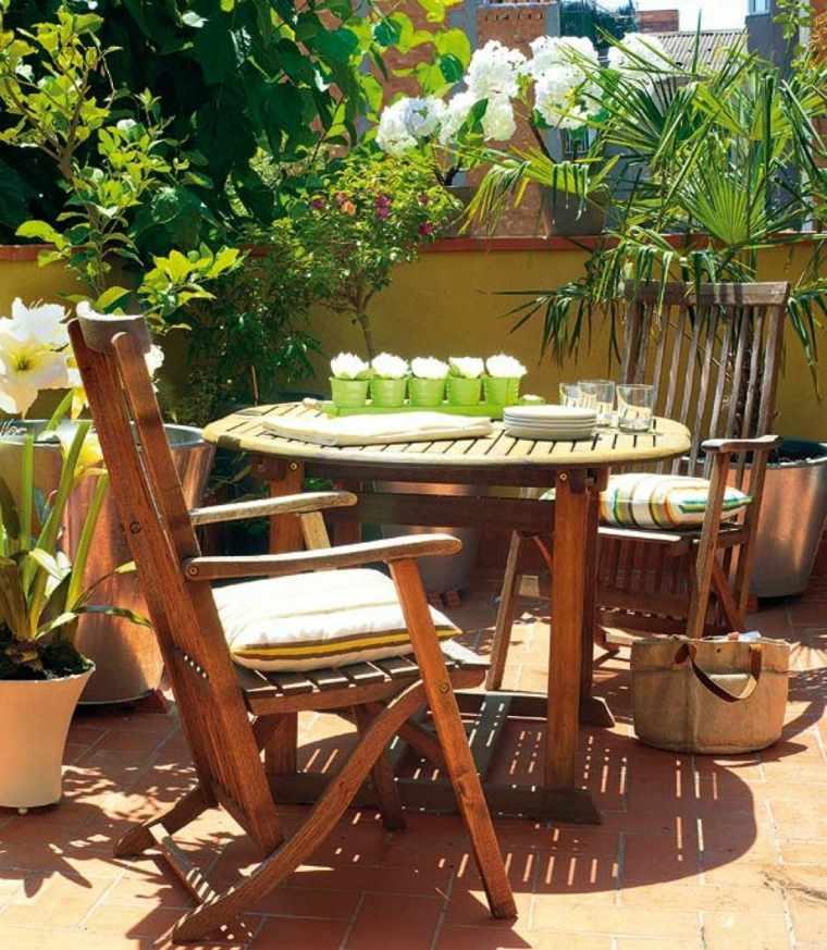 Decorar terraza pequea 24 diseos elegantes