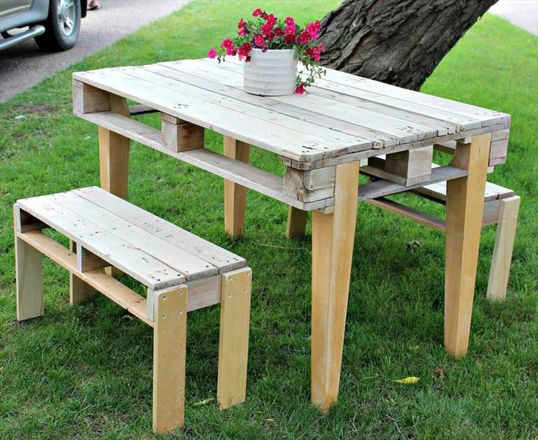 mesas para terraza diy inspirate para
