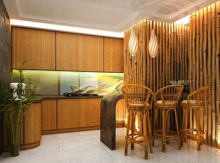 Decoracion bambu para interiores encantadores y relajantes
