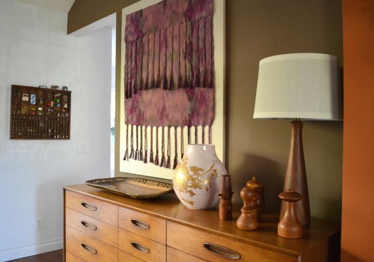 Tapices y decoraciones de pared con textiles  30 ideas