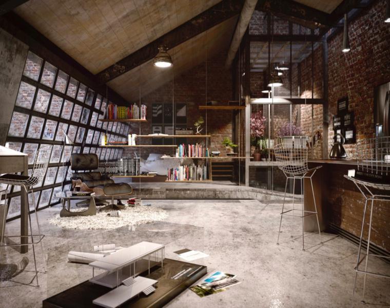 Apartamento Tipo Loft Industrial