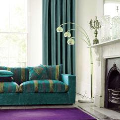 Dark Blue Couch In Living Room Brown Orange Ideas Cortinas Modernas Para Salon - 24 Diseños Originales