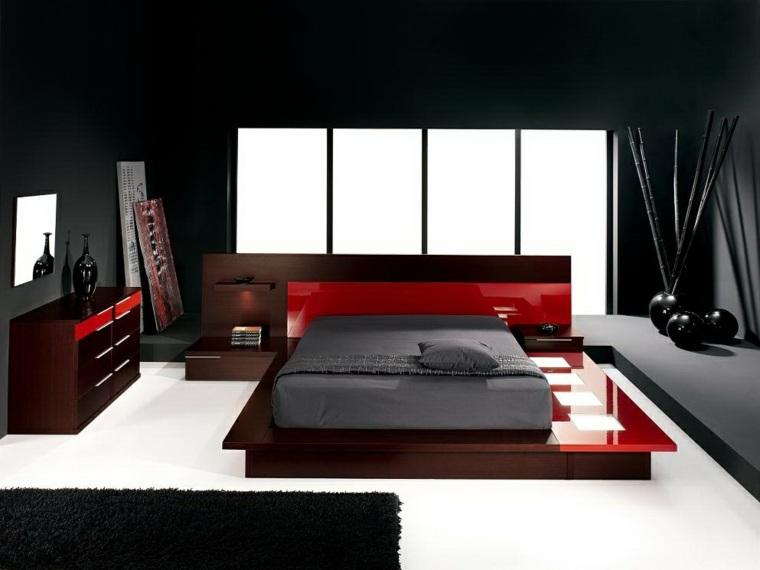 Color negro en el dormitorio  ideas fantsticas de