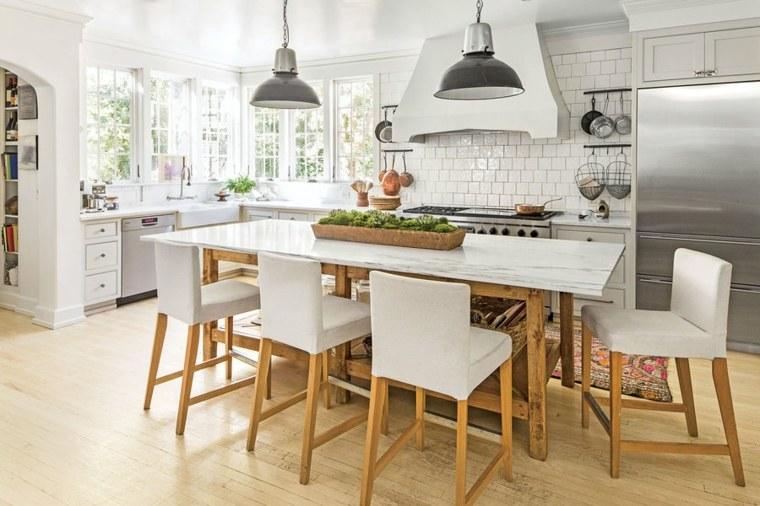 Cocina blanca  42 diseos de cocinas que te encantarn