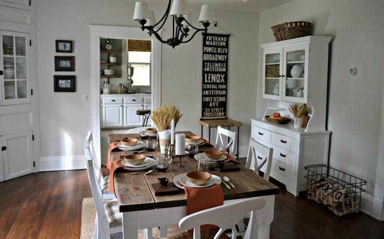 Estilo vintage  decoracin de interiores con elementos