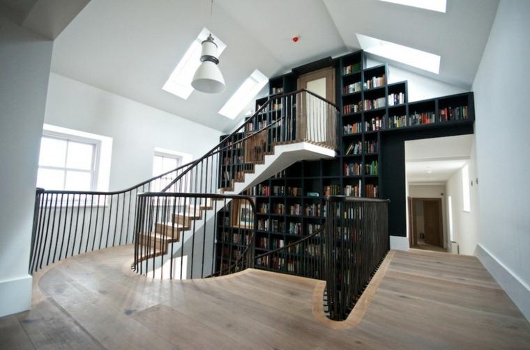 Escaleras biblioteca el diseo inteligente