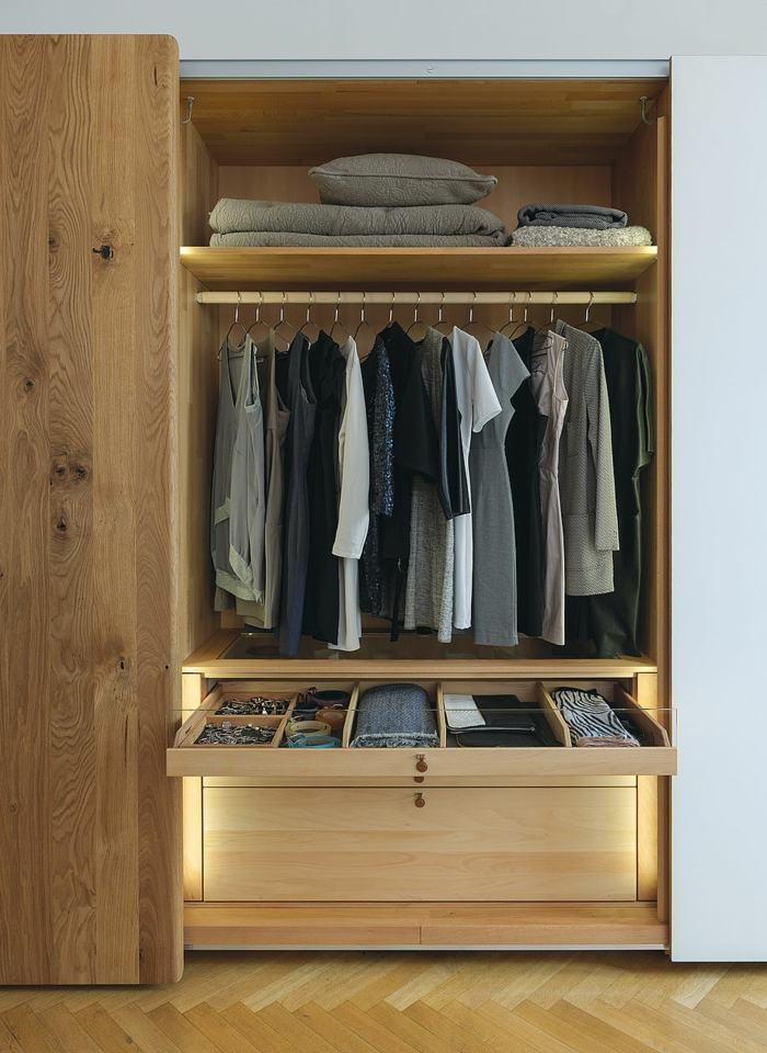 Interiores de armarios ideas para aprovecharlos al mximo