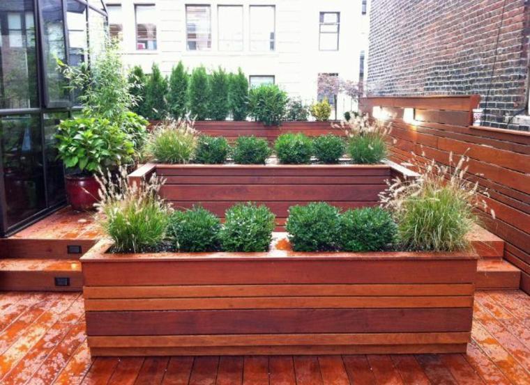 Jardineras y macetas  algunas ideas interesantes