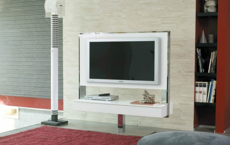 showcase designs living room wall mounted replacement cushions for chair muebles para tv con diseño moderno a la última