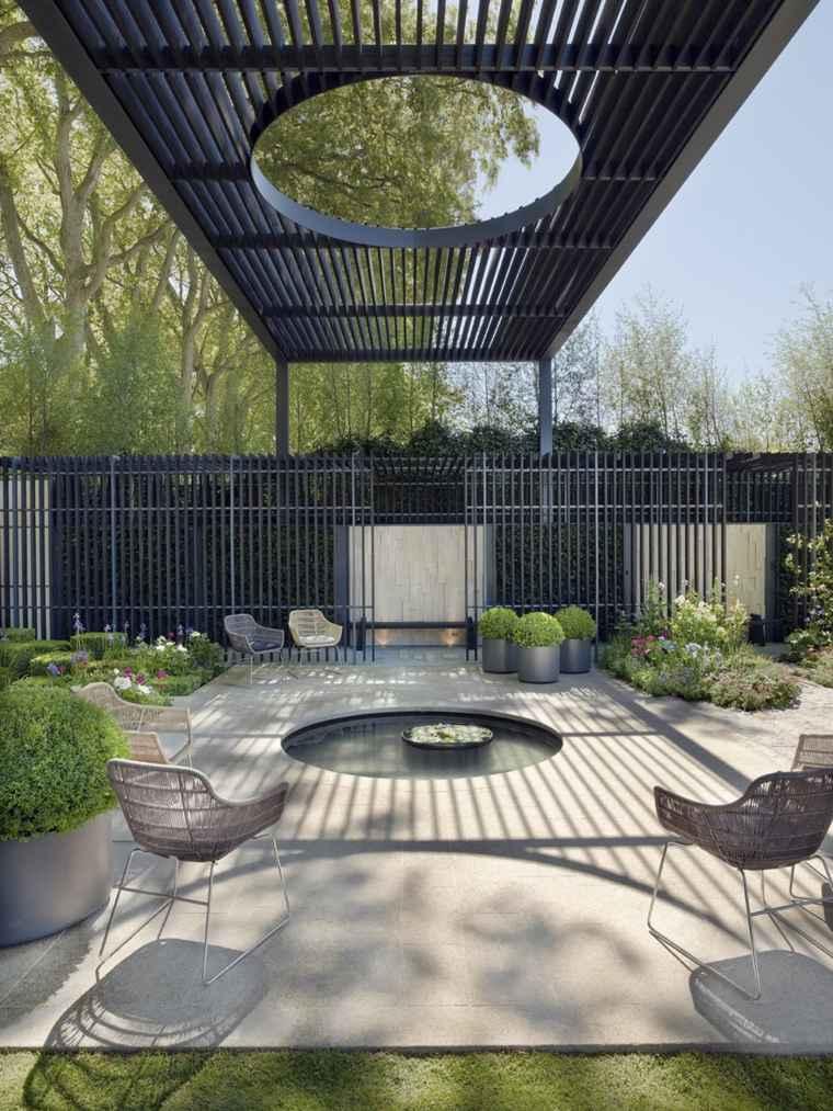 Prgolas diseo moderno para jardines y terrazas