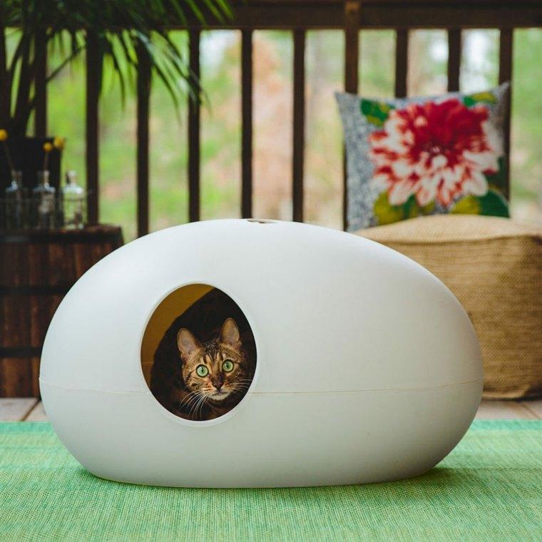 Camas para gatos un estilo felino