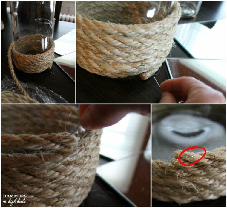 Manualidades con cuerda  originales ideas de decoracin
