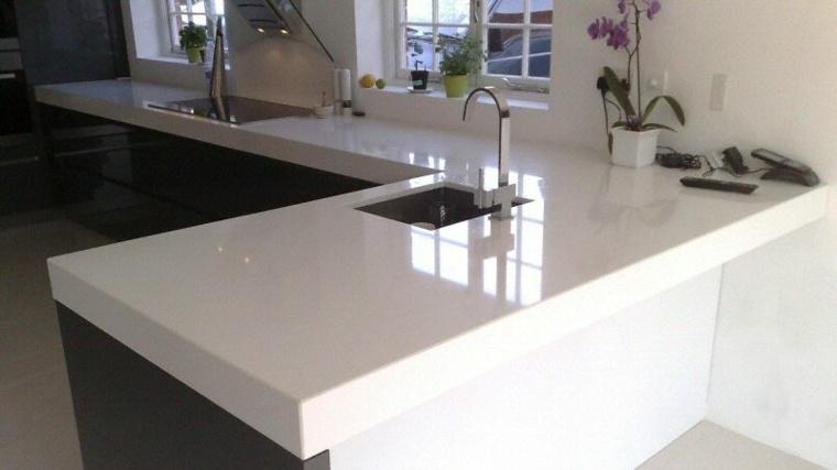 Encimeras cocina  superficies funcinales y modernas