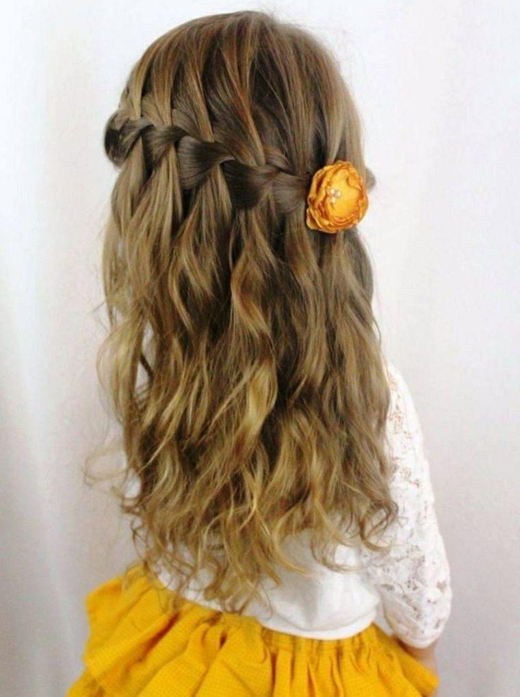 Peinados para nias pequeas muy elegantes