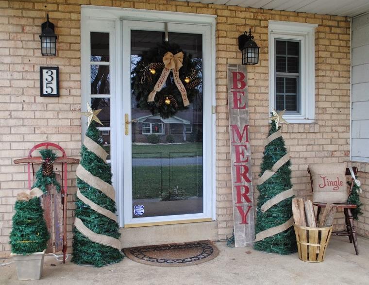 rocking chair white outdoor bassett dining chairs adornos navideños bellos y elegantes para el exterior