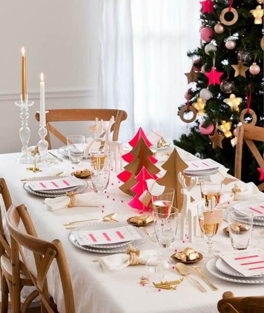 Resultado de imagen para decoracion mesas navideñas