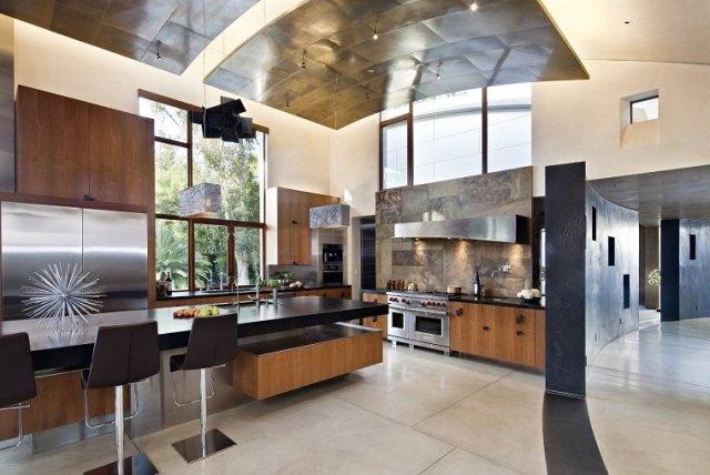 tavanı dekore etmek için fikirler benzersiz modern tasarım