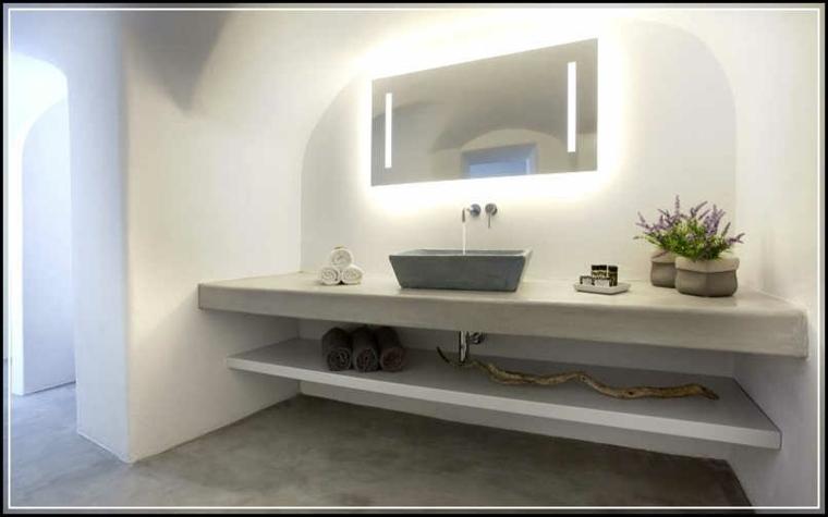 Tocadores y lavabos flotantes para el cuarto de bao