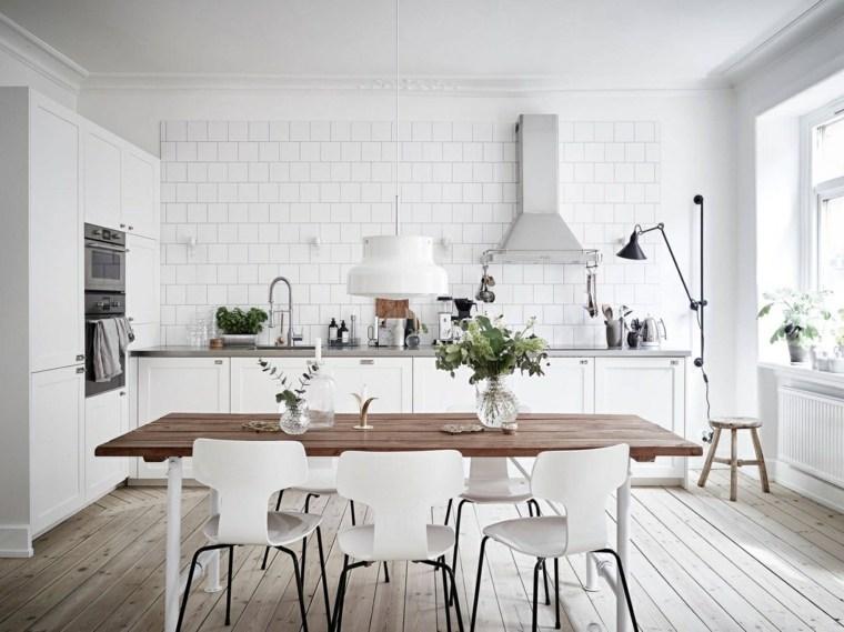 Estilo escandinavo  ideas fotos e inspiracin para la cocina