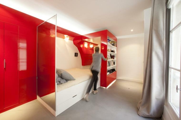 Apartamentos pequeos funcionales y modernos