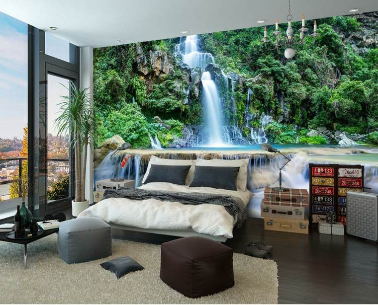Fall Ceiling Wallpaper Papel Para Paredes Una Decoraci 243 N Elegante