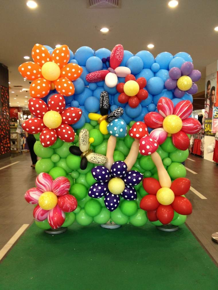 Decoraciones con globos para eventos importantes