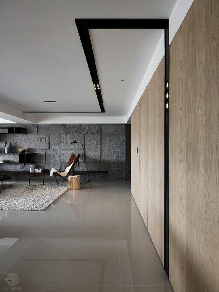 Interiores modernos e inspiradores de estilo minimalista