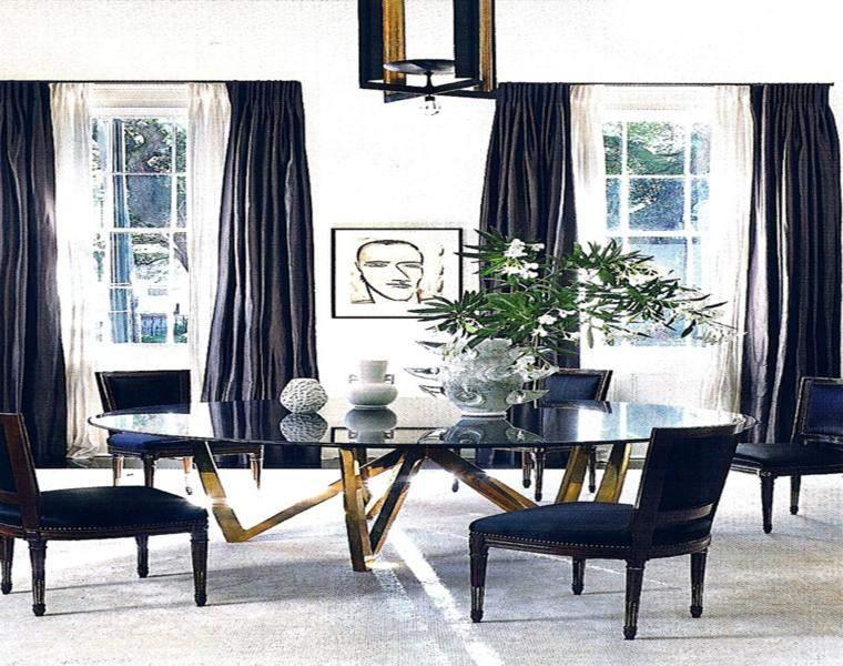 Cortinas decoracion para salones y dormitorios  24 ideas