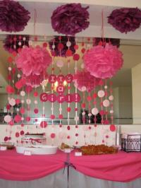 Decoracion baby shower nia