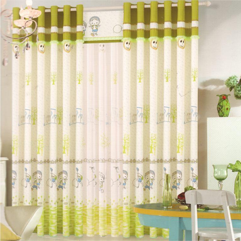 Cortinas para bebs para decorar las habitaciones