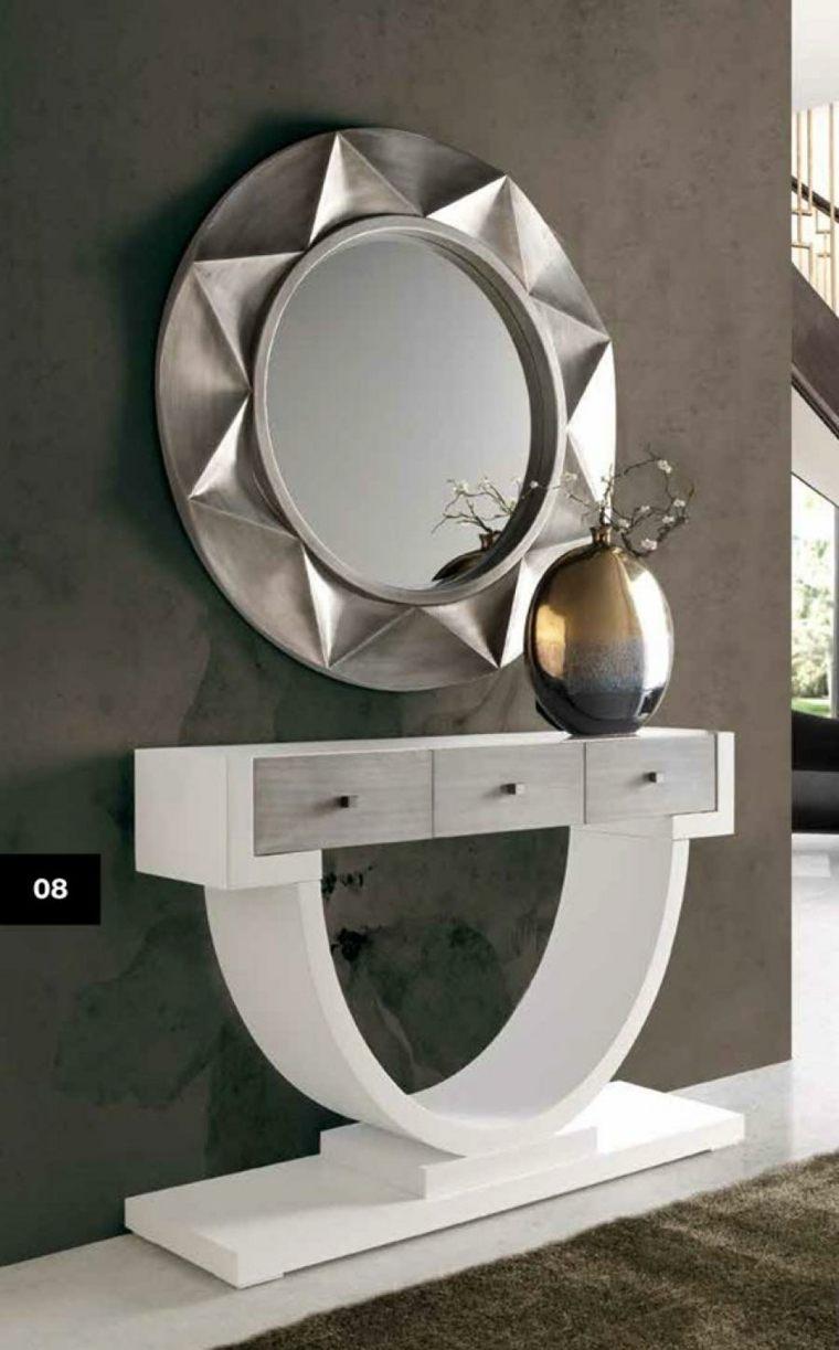 Espejos para recibidores la modernidad de vuestra entrada