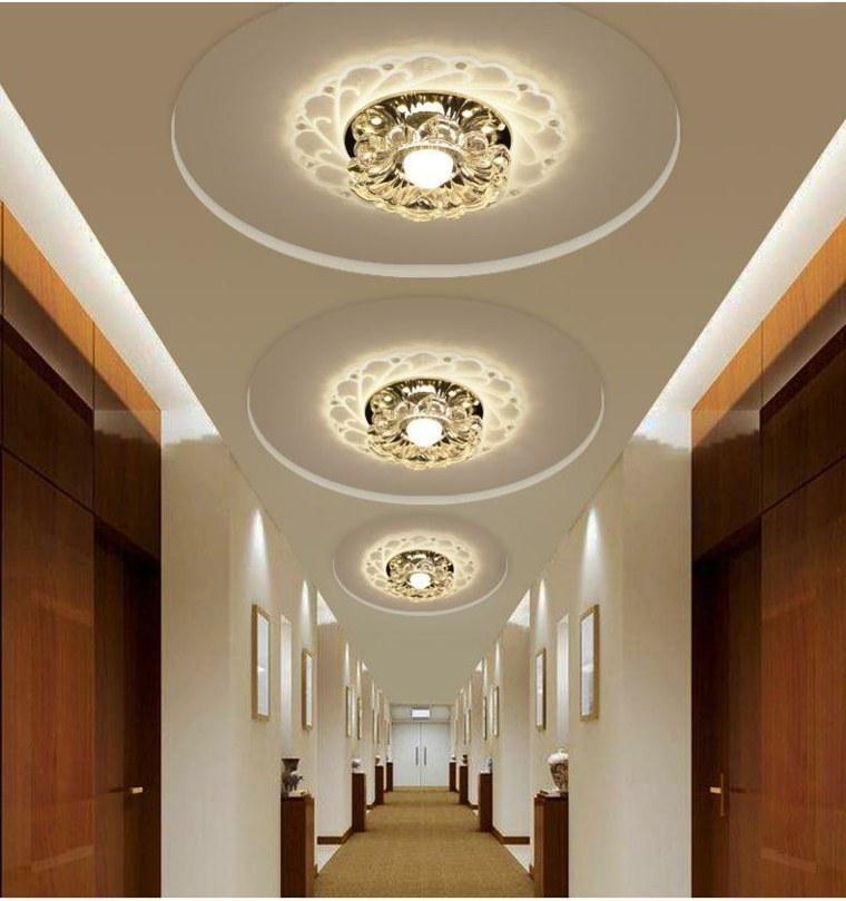 Lmparas para pasillos para decorar y modernizar
