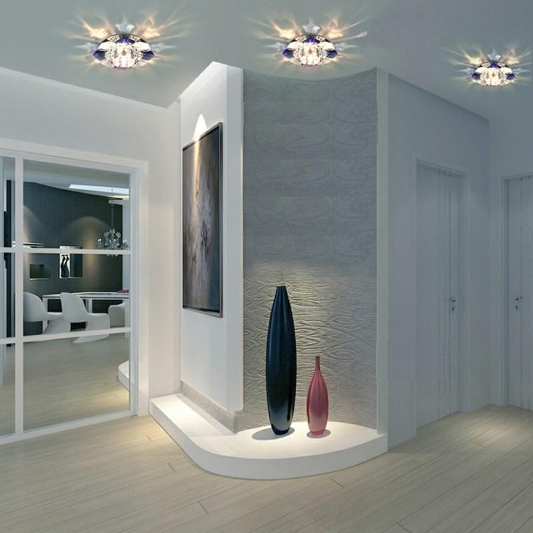 Lmparas de pasillo modernas para decorar el interior