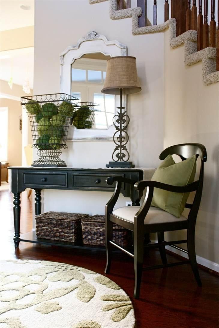 living room console tables mirrored wall colours for 2017 muebles pasillo de entrada - ideas para una buena primera ...
