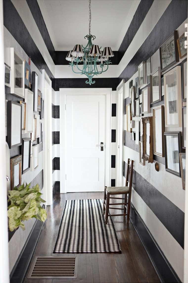 Colores para pintar un pasillo de recibidor  24 ideas