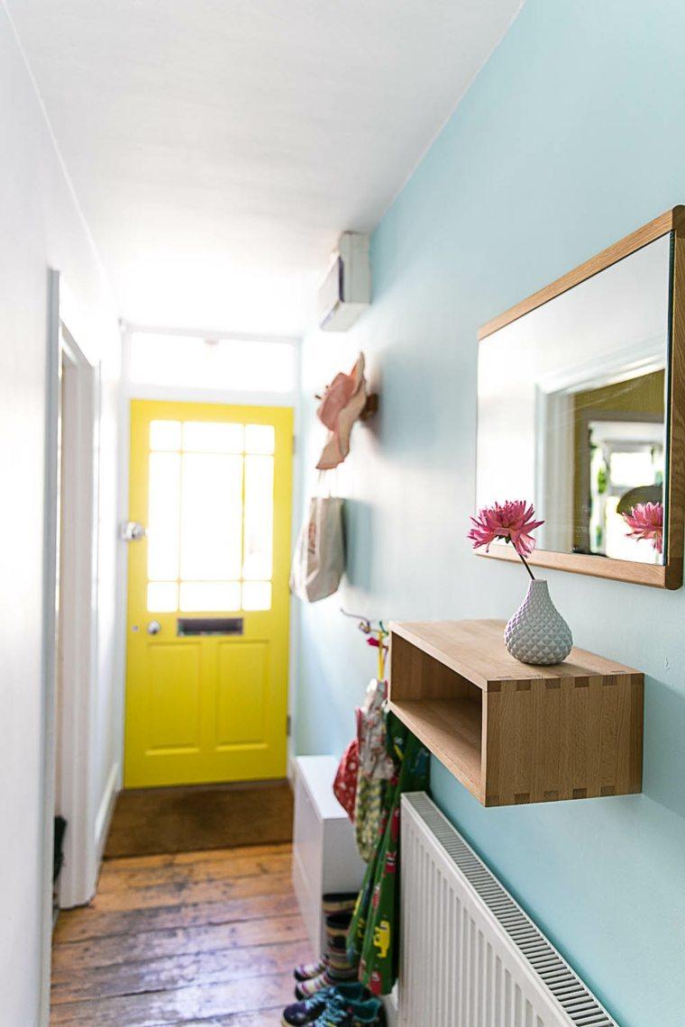 Como pintar un pasillo  ms ideas y colores interesantes