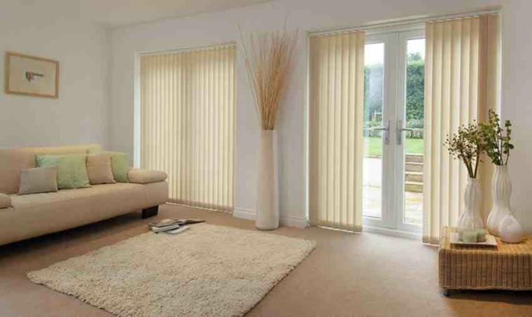 Cortinas para ventanas abatibles  diseos funcionales y bonitos