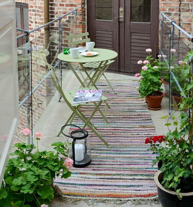 Decorar balcones pequeos con estilo  40 ideas en fotos