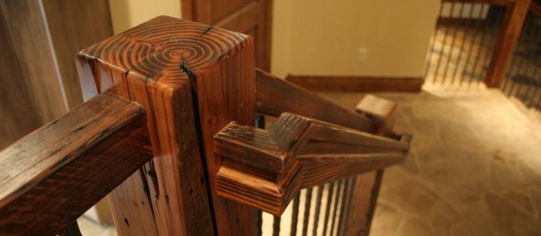 Escaleras rsticas de piedra y madera  ms de 35 diseos