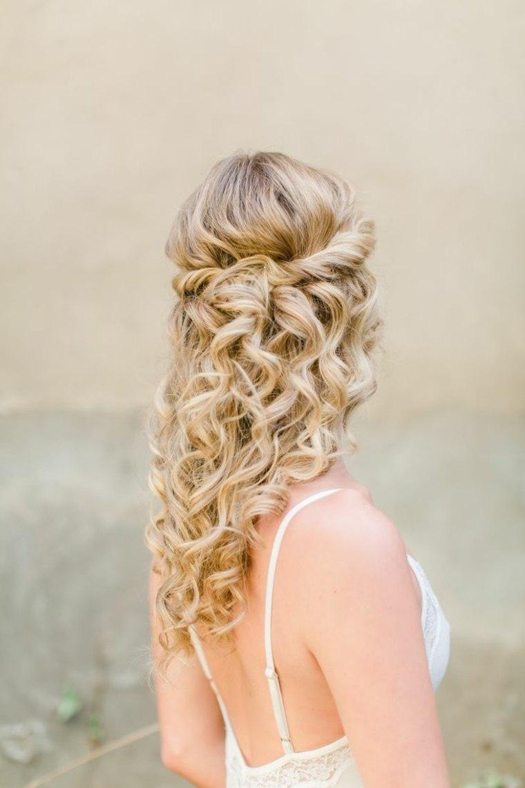 Peinados boda e ideas para lucir bella en tu da ms