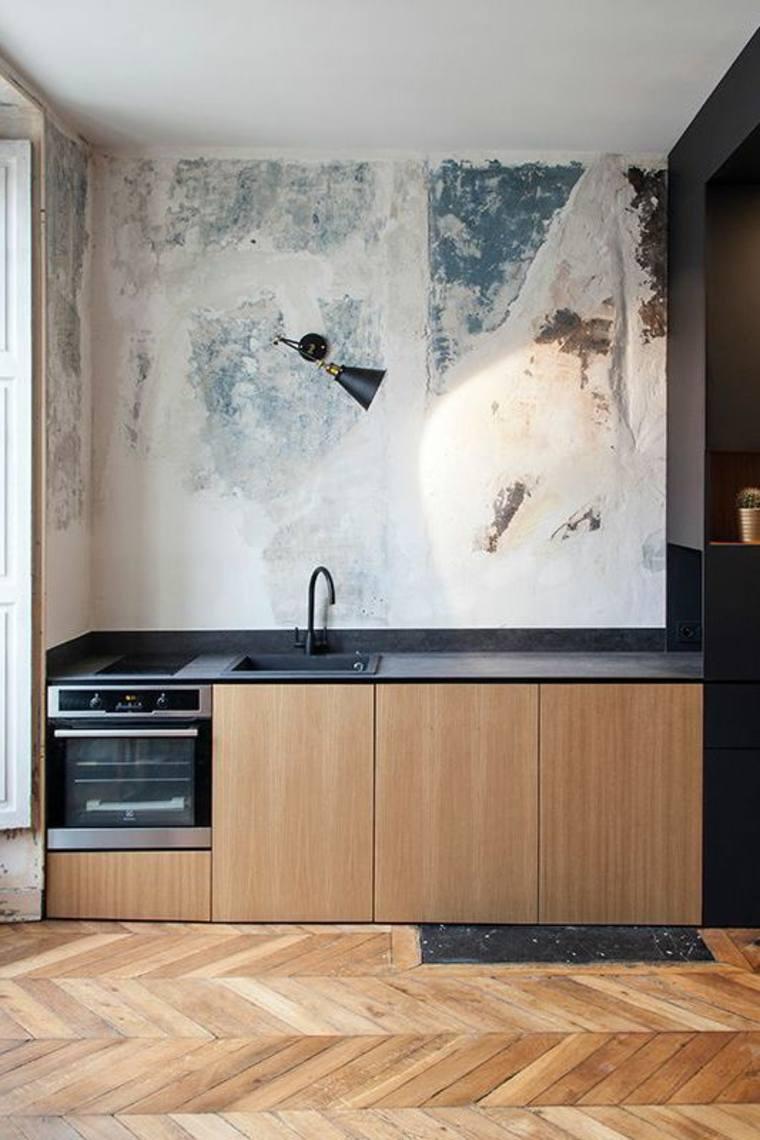 Cocinas de diseo lineal  ahorrar espacio con mucho estilo