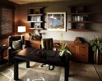Decoracin de despacho interior elegante y moderno - 34 ...