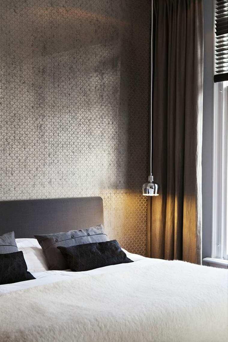 Dormitorios con estilo masculino y elegante  34 diseos