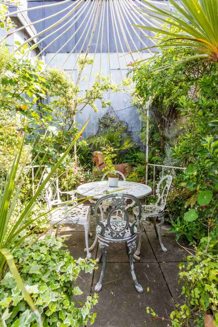 Fotos de jardines pequeos con diseos llenos de vida