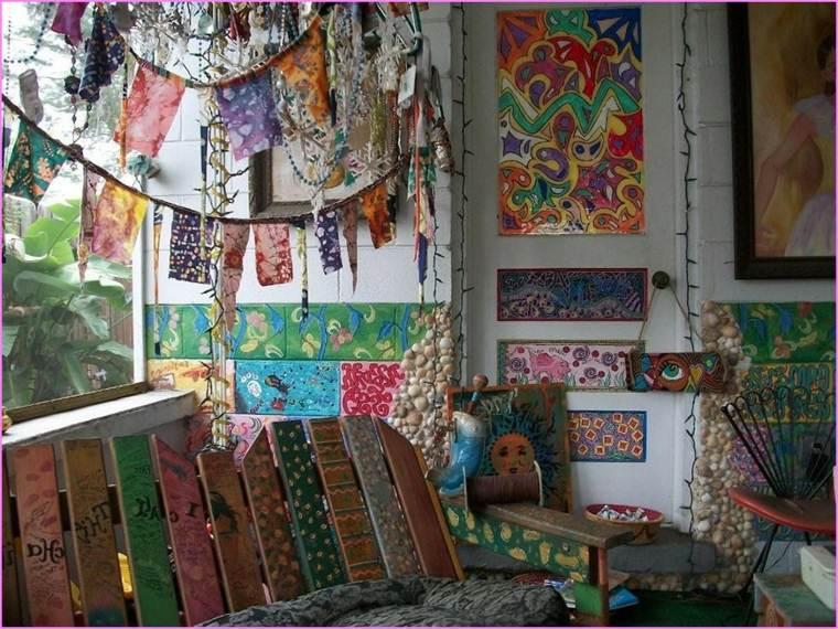Decoracion Sala Hippie